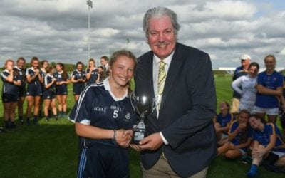 Well done Amy and Alex on the Dublin Under 17 Football team on win