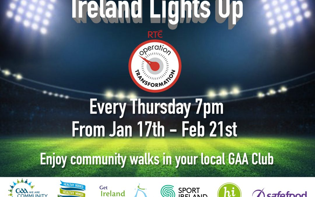 Operation Transformation and Ireland Lights Up 2018