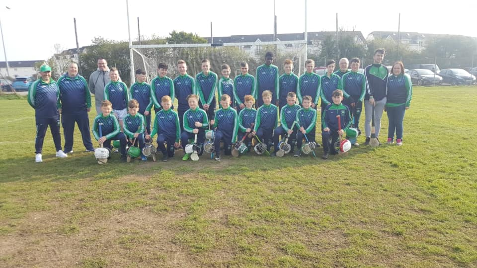 1st Hurling Feile Final for the CLub