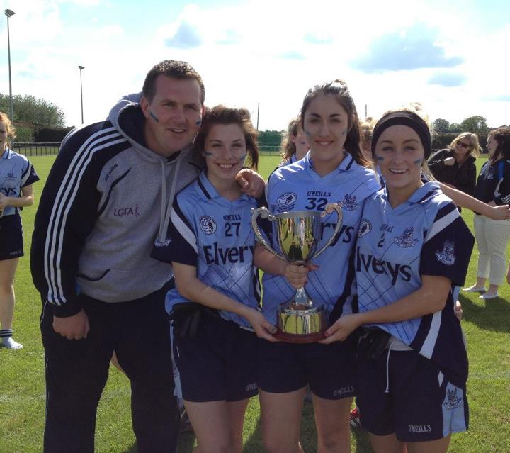 3 O'Dwyers ladies lift the U16 Leinster Title.