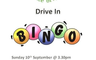Outdoor Bingo this Sunday!