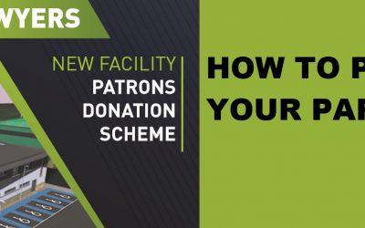Patron Donation Scheme