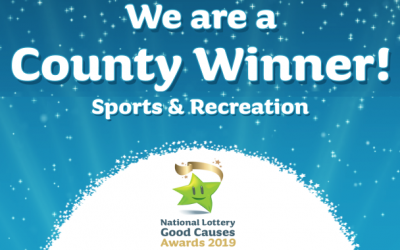 County winner of the National Lottery Good Causes Awards 2019
