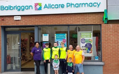 Allcare Pharmacy join as a new club sponsor