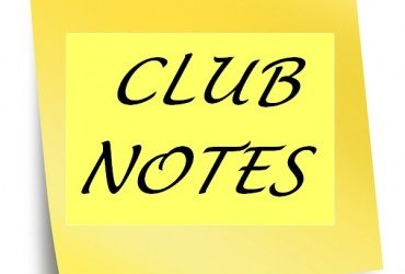 Club Notes 8th March