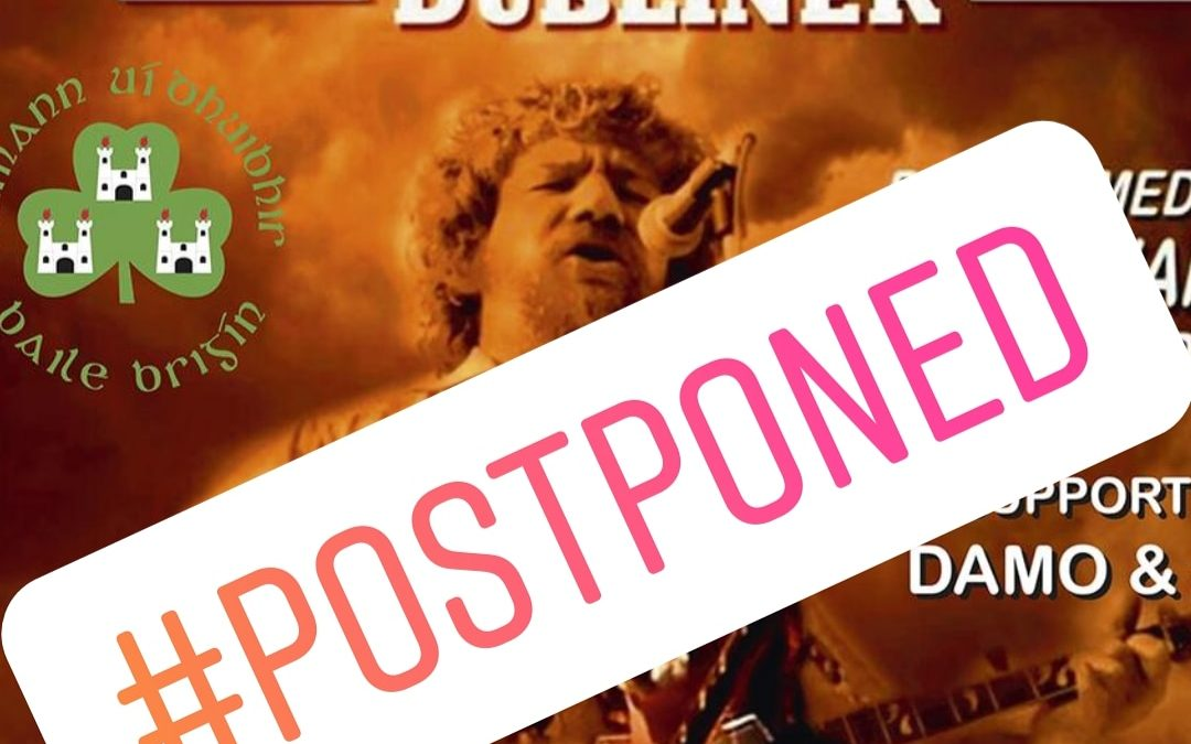 Luke Kelly Tribute Night Postponed