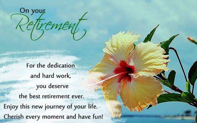 Happy Retirement Seán