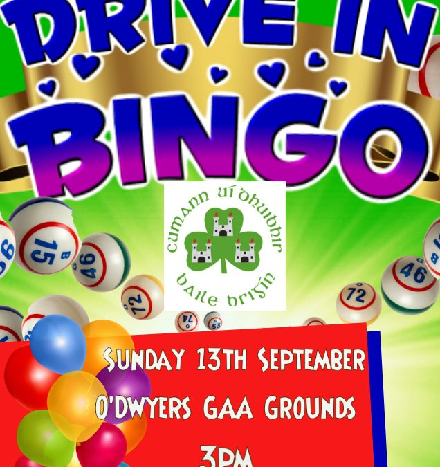 Drive In Bingo 13th September