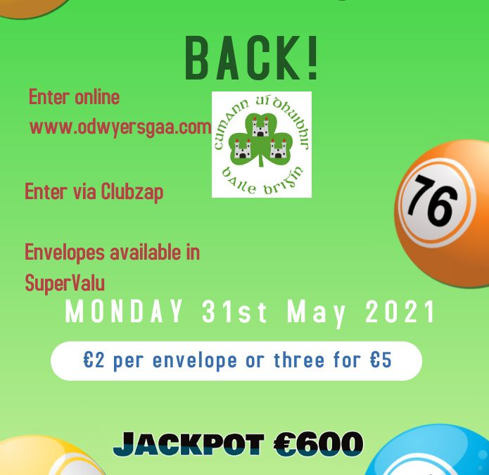 Lotto is back!